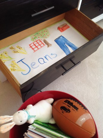 How To Line Drawers (In A Kid's Dresser)