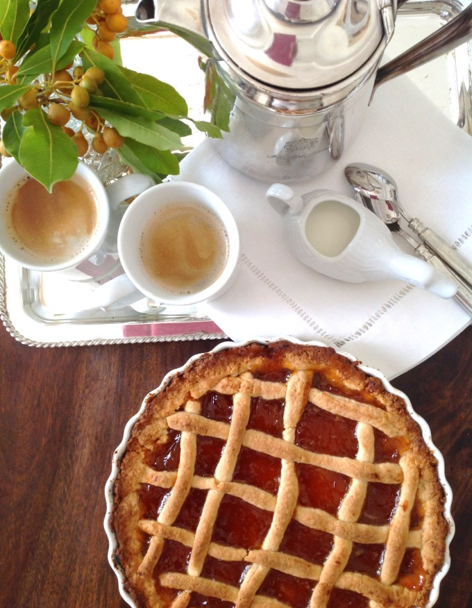 Pasta Flora – Sweet Tart With Apricot Jam