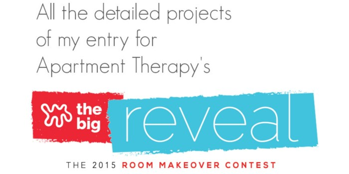 Apartment Therapy 2015 Room Makeover Contest