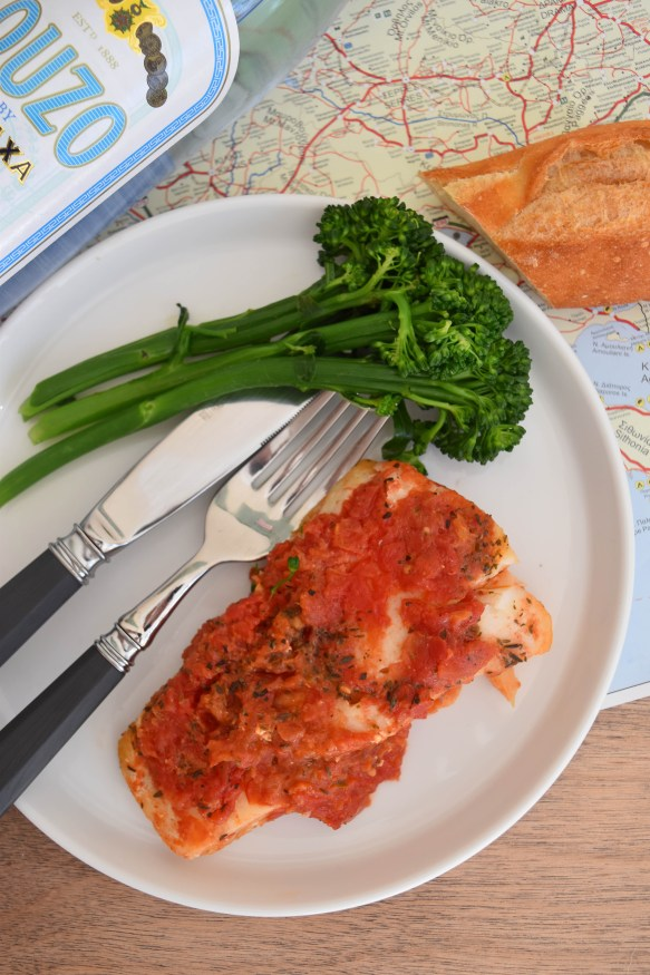Easy Weeknight Dinner: Mount Athos Cod With Ouzo & Dried Herbs