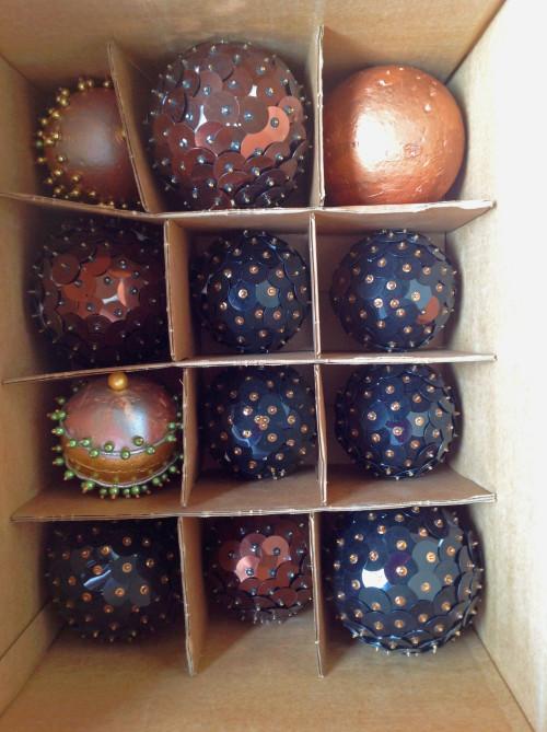 Storing Larger Christmas Ornaments - mydearirene.com