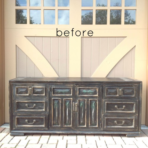 Why I Chose Chalk Paint For A Media Console Remake