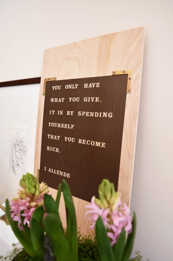 Inspirational Quote Wall Art For Valentine's Day