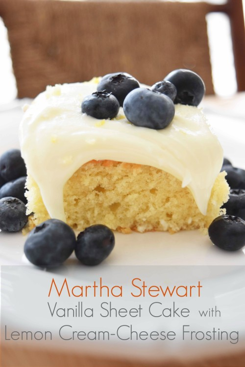 Vanilla Cake Slice With Blueberries 2 - mydearirene.com