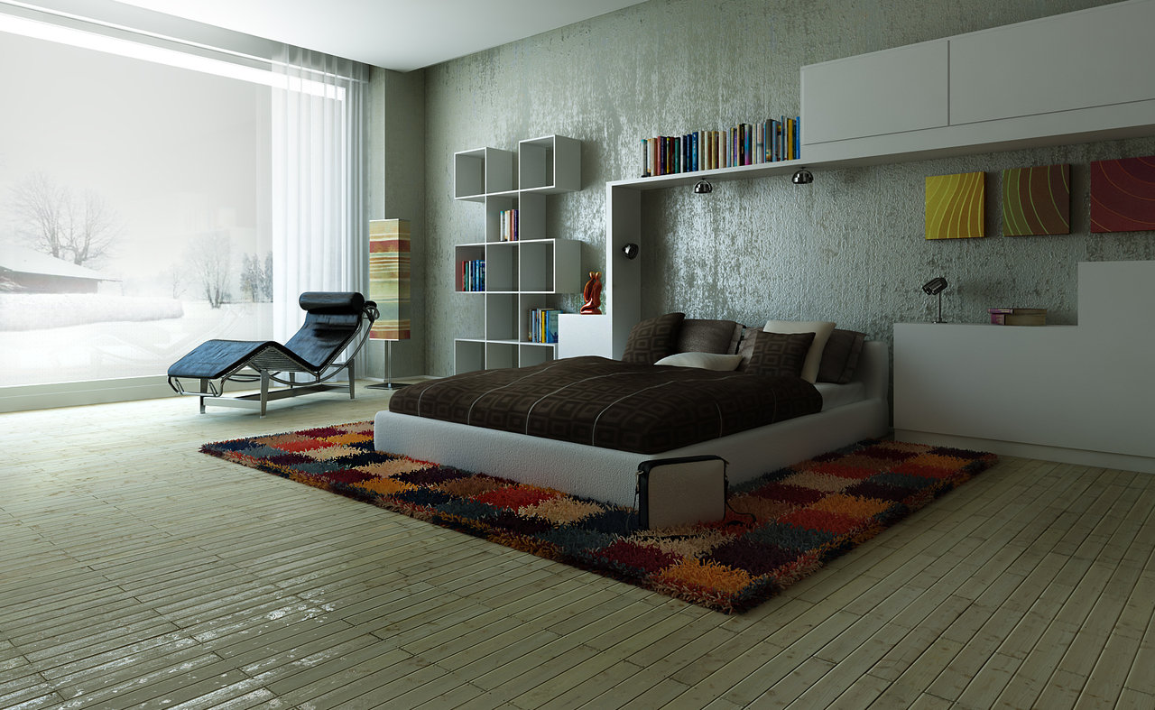 Modern Bedroom Walls Decorating Bedroom In Five Easy Steps My Decorative