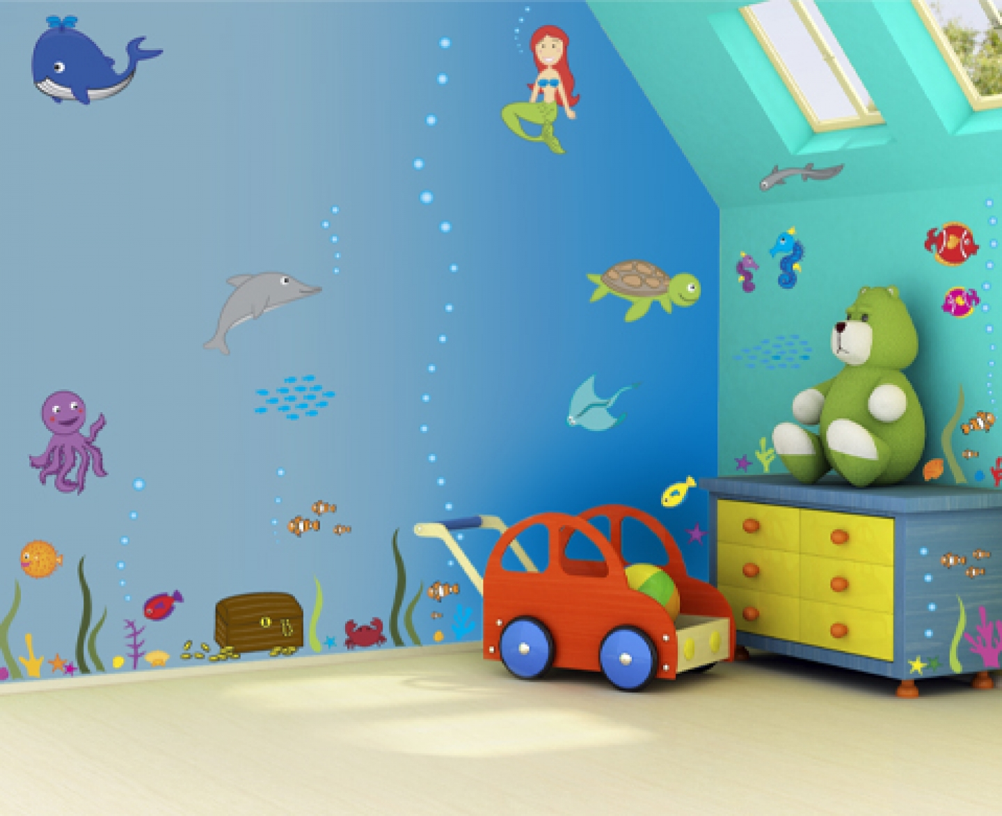 Wall Art Décor Ideas For Kids Room My Decorative