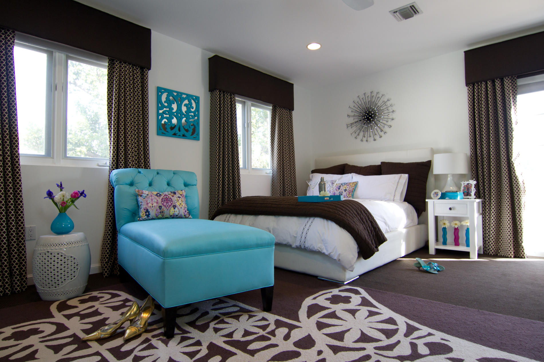 Brown And Teal Bedroom Make Your Bedroom A Romantic Haven Part 4 My Decorative