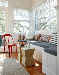 Window Sill Cushioned Seats an Add On Beautiful Space | My ...