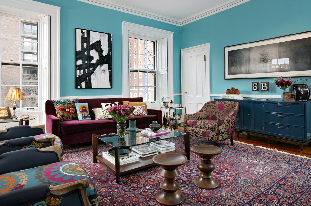 Teal Accents Living Room The Texture Of Teal And Turquoise A Bold And Beautiful