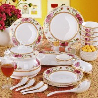 Bone China Dinnerware and Tea Cup Set | My Delicacy