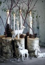 Birch Christmas Decorations