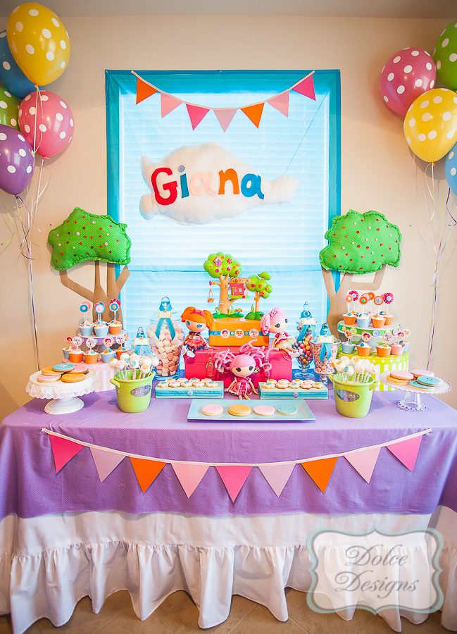 Lalaloopsy Birthday Party by Dolce Designs Dolce Designs - birthday party design