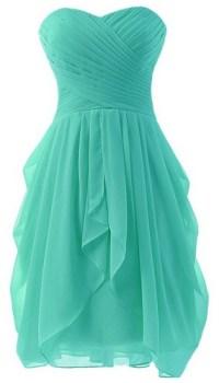 Turquoise Bridesmaid Dresses - Dream Wedding Ideas