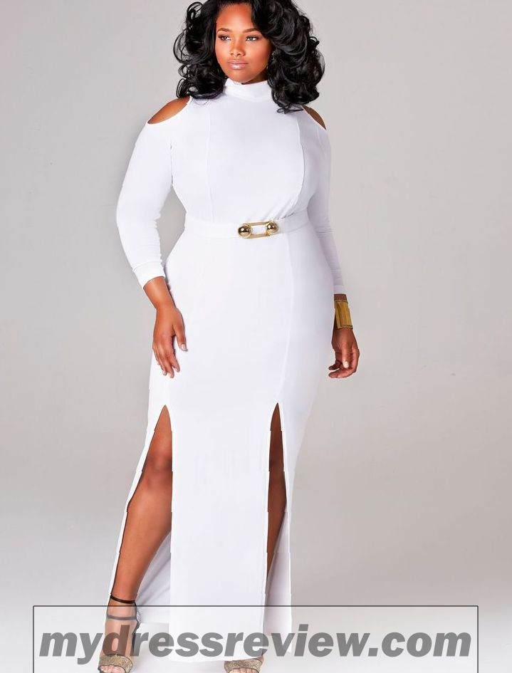 All White Party Dresses For Plus Size And Make Your