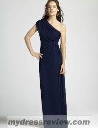 One Shoulder Black Bridesmaid Dress : Fashion Outlet ...