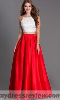 Prom Dresses 2018 Red And Black - Eligent Prom Dresses
