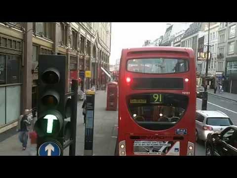 BusLapse: London Bus 176 Elephant and Castle to Trafalgar Square