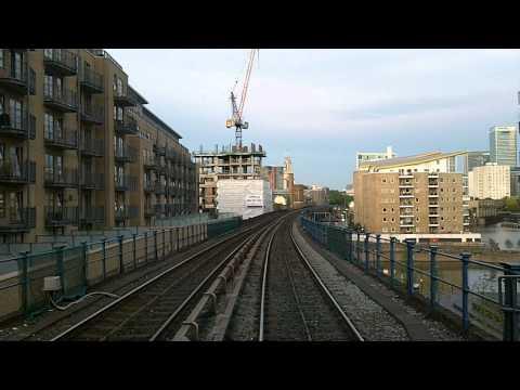 Time-Lapse on London's DLR Docklands Light Rail