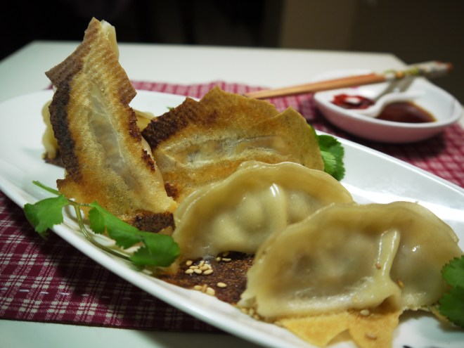 GOLDEN CRISPY POT STICKERS