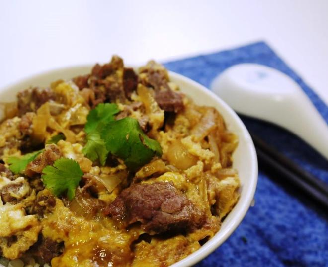 Gyudon Japanese Beef and Eggs