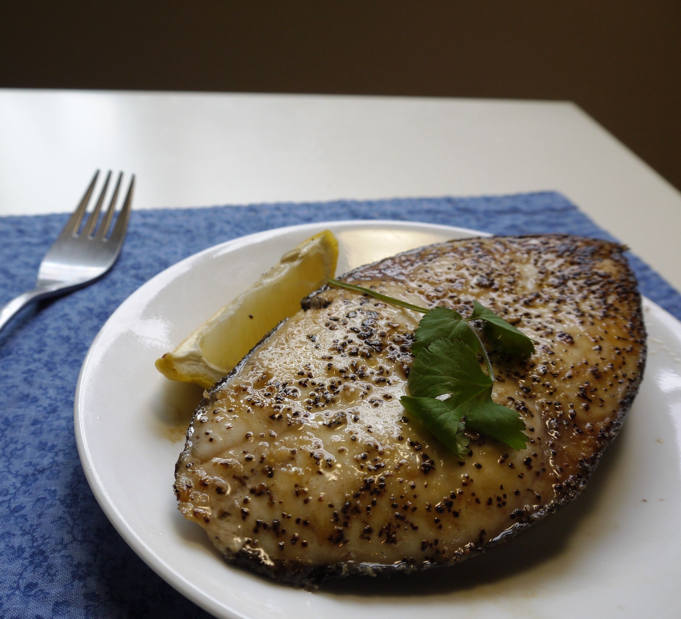Grilled escolar fish steak easy chinese recipes for Fish steak recipe