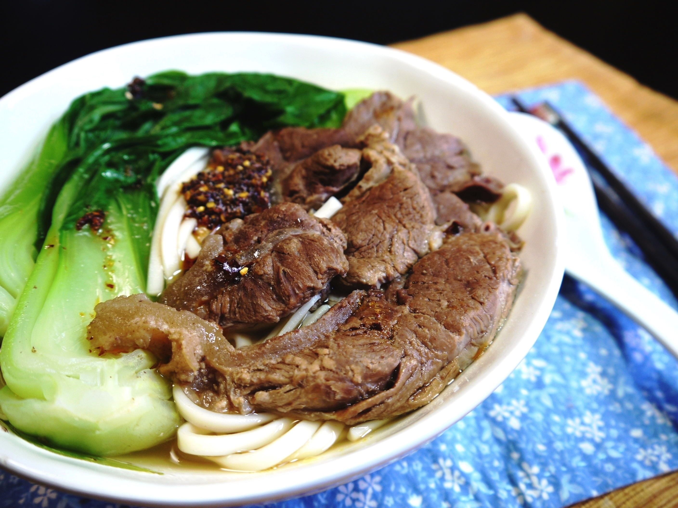 Easy clear broth chinese beef noodle soup recipe clear broth beef noodle soup forumfinder