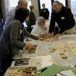Earnest conversation and teamwork as citizens focus on design elements for Westgate and Five Corners neighborhoods.