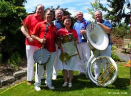 Duwamish Dixieland Jazz Band plays Sunday at Edmonds Lutheran Church.