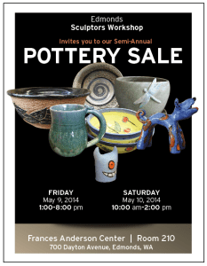 Poster - Sculptors Workshop Spring 2014 Studio Sale
