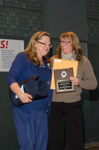 MHS community volunteer Debra Davenport