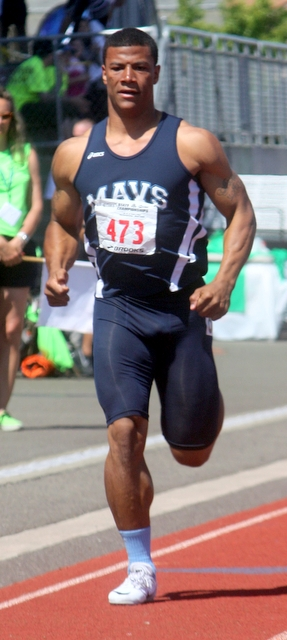 Meadowdale's Mar-gary-onta Kilcup  finished seventh in the 200-meter dash finals at the 3A State Track and Field Championships. Earlier in the day Kilcup took fourth in the 100 dash.