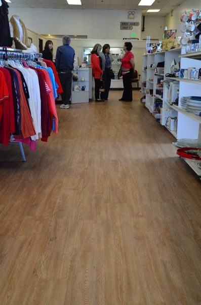 "Interior improvements include new flooring, and new checkout counter, and reconfigured shelving and aisles.  ""The new layout is much more customer-friendly,"" said store manager Barbara Halseth."