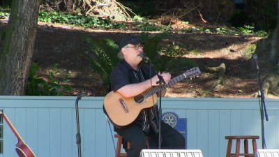 Grammy Award-winning guitarist Eric Tingstad also performed with the group on Sunday.