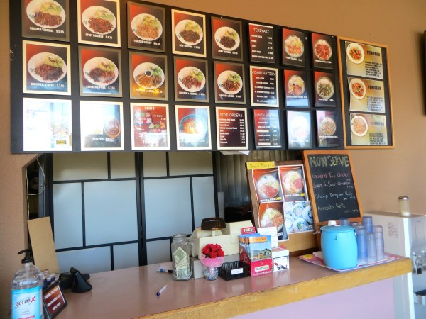 Inside Five Corners Teriyaki. (Photo by Caitlin Plummer)