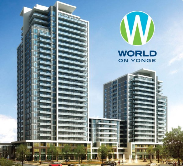 Parkside Towers At World On Yonge – Final Phase on SALE