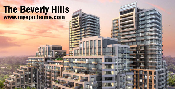 Beverly Hills Condo in Richmond Hill, VIP Sale on Oct 29th