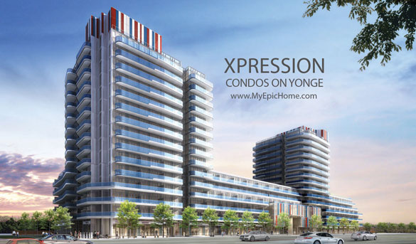 XPRESSION Condos On Yonge South Tower For Sale