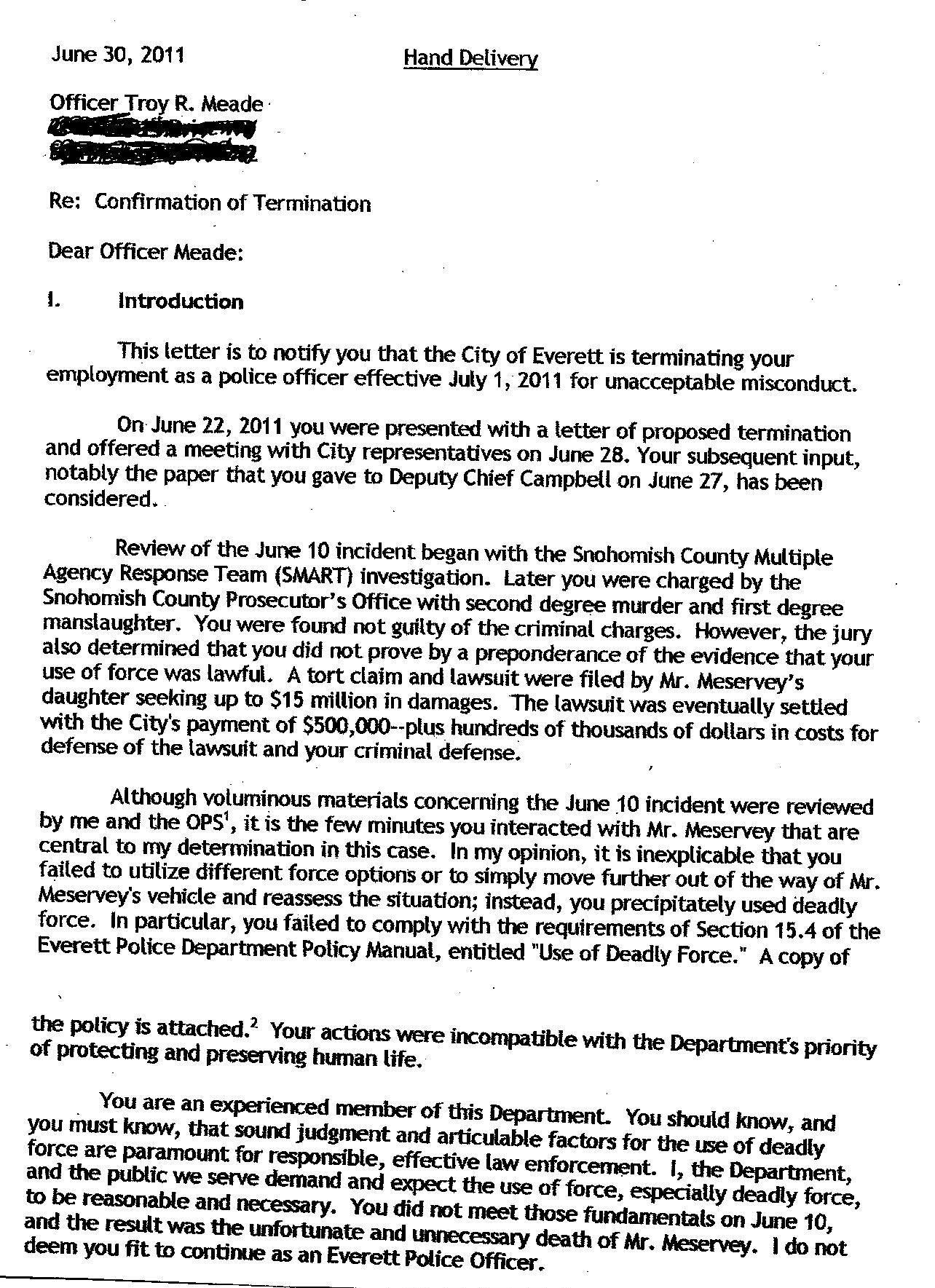 Sample Resume For Police Officer Police Detective Sample Resume Cvtips Troy Meade Fired By Everett Police Chief Jim Scharf