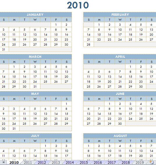 one year calendar template - Minimfagency