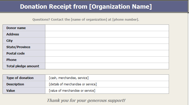 Ultimate Guide to the Donation Receipt 7 Must-Haves  6 Templates
