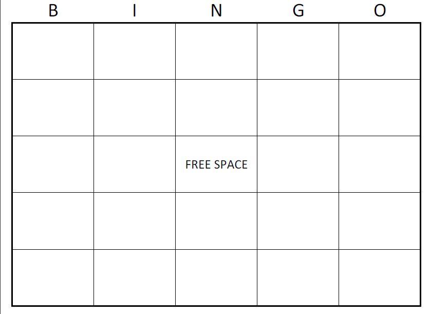 blank task cards