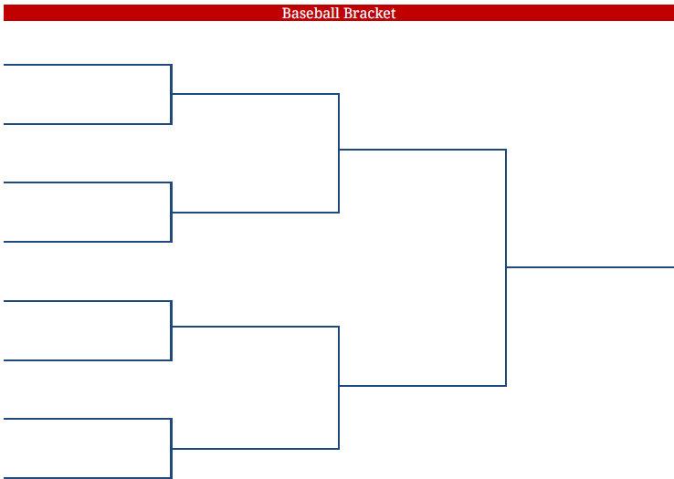 Printable Blank PDF ACC Baseball Tournament Bracket acc baseball