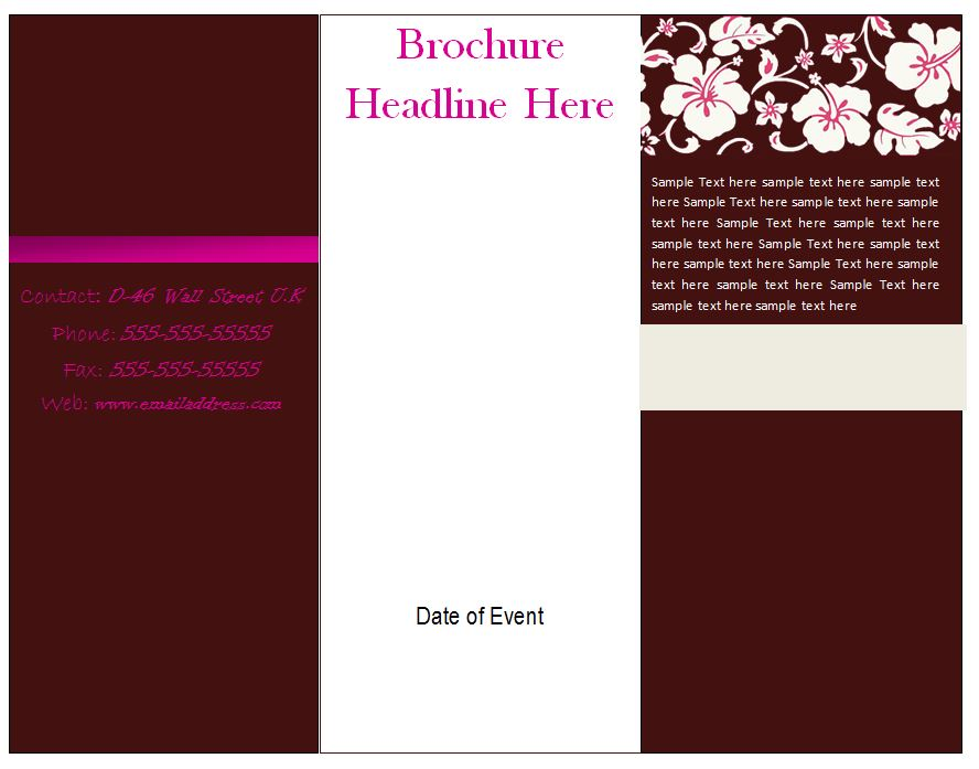 download brochure template word - 28 images - 31 free brochure - download brochure templates for microsoft word