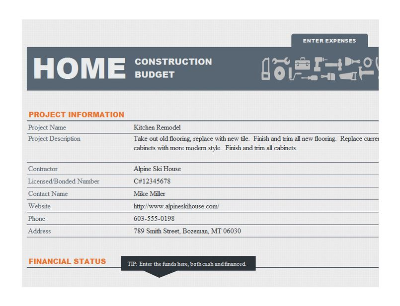 Home Construction Schedule Template - construction schedules templates
