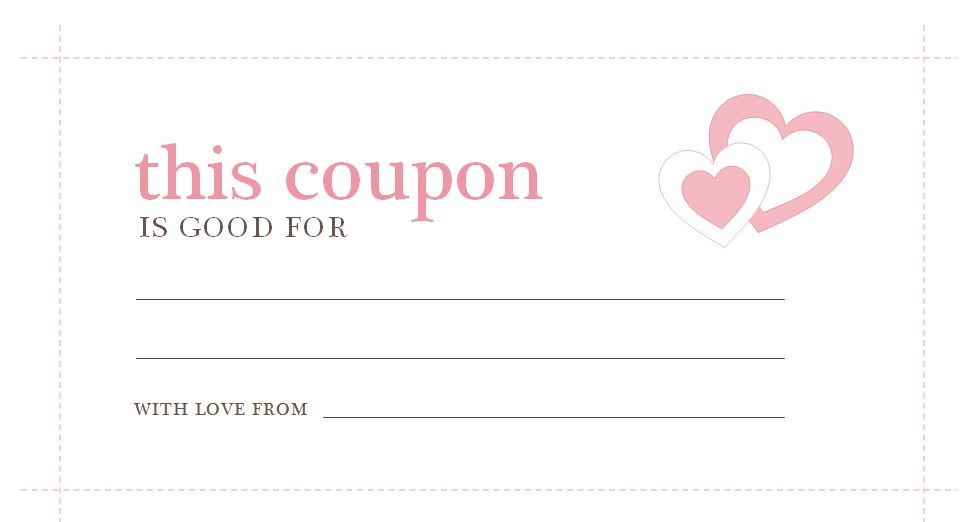 free templates blank coupons - coupon template