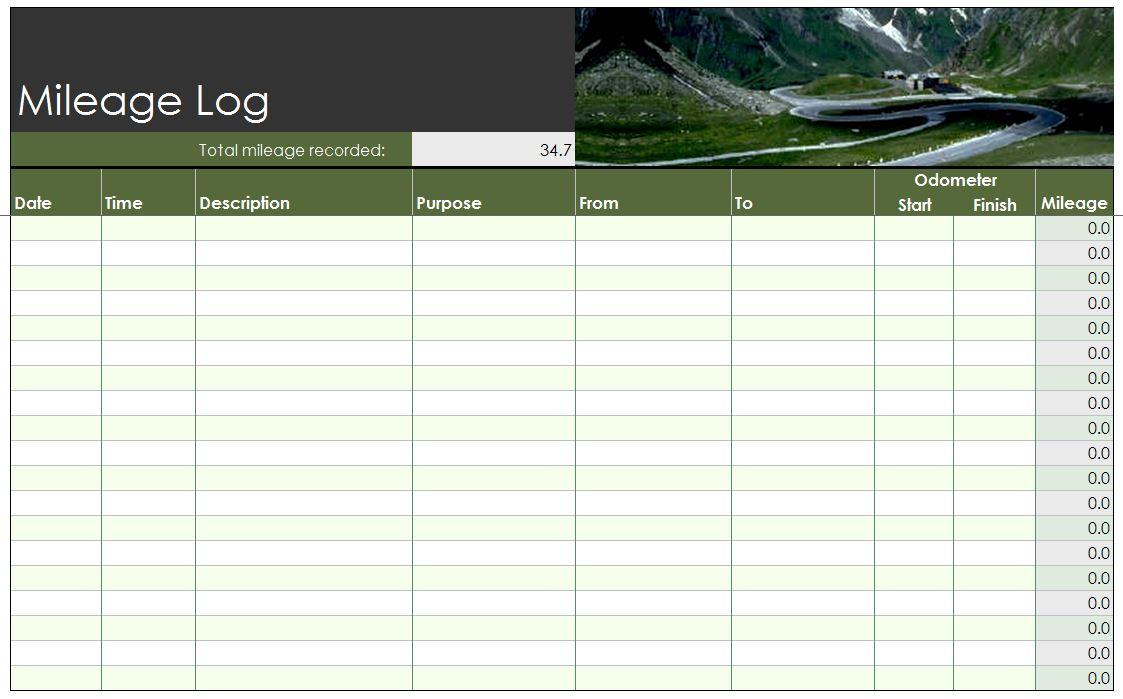 sales log sheet