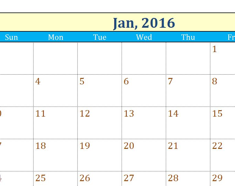 avery calendar