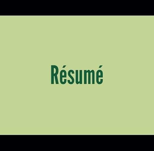 Resume Writing 101 My Fab Finance