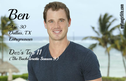 EDIT - Ben (Bachelor In Paradise)