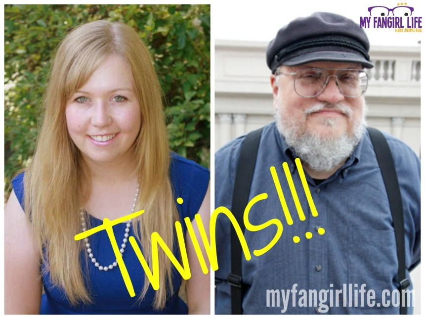 George RR Martin Cosplay Twins
